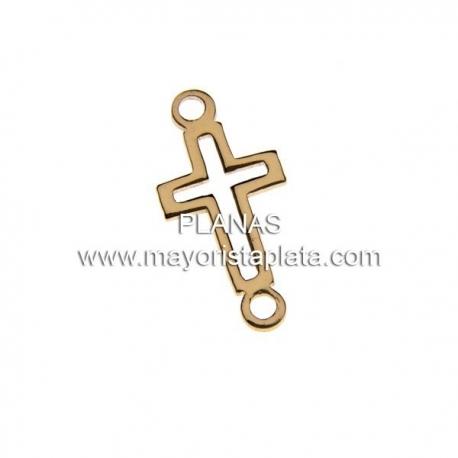 Cruz de Plata y Baño de Oro