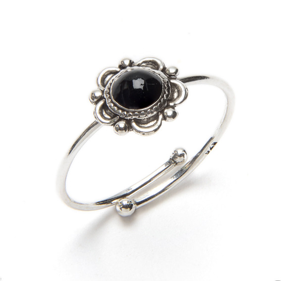 65 1 anillo onix y plata de ley