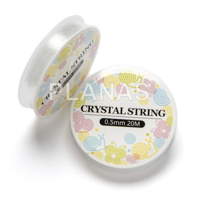 165 1 hilo de silicona elastico