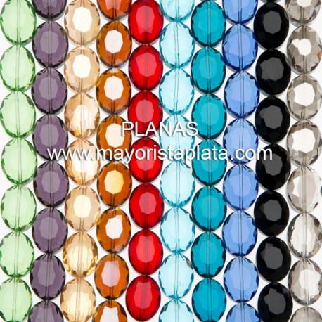Ovales de Cristal Facetado