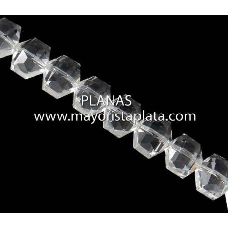 Abalorio Cristal 10x8x7mm.