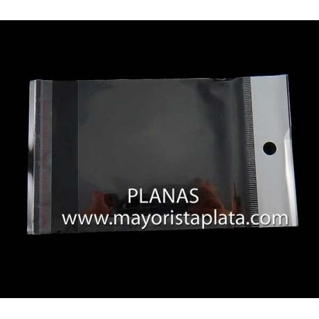 OPP Bolsas de Plastico 8x14mm.Solapa