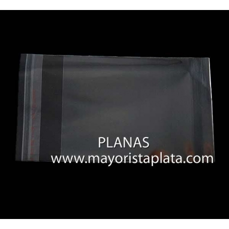 OPP Bolsas de Plastico 60x105mm.