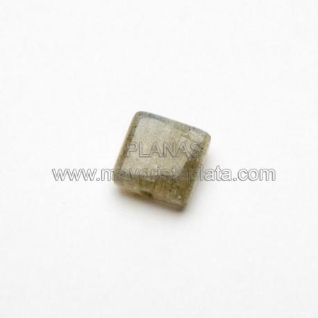 Piedra Labradorita 8x8mm.
