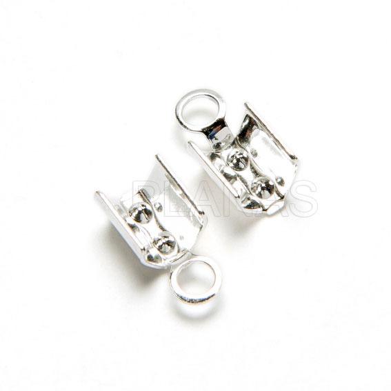 Silver 2,5mm terminal.
