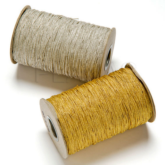 Cotton thread metallic 1mm.
