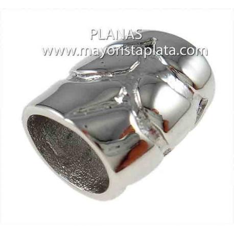 Tubo de acero 15,5x14,5x12mm.