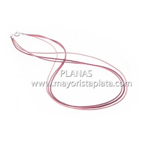 Cordón Multi Hilos y Plata