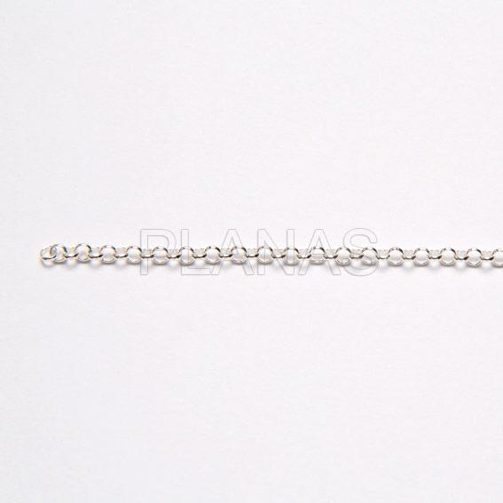 23173euk1w cadena rolo de plata a metros