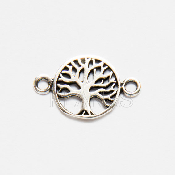 Interpiece tree of life sterling silver.