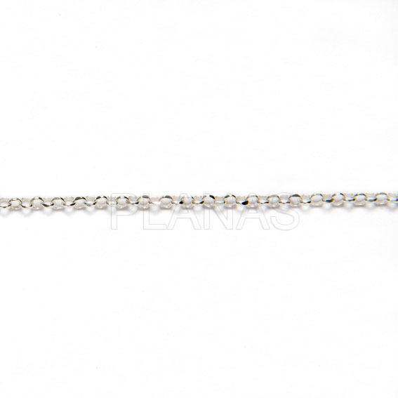 242864ewjx cadena rolo de plata a metros