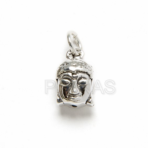 Mini pendant in sterling silver, 10x10mm.