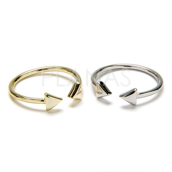 Ola ring in sterling silver.