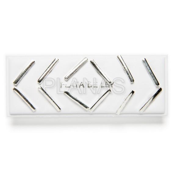 Silver earrings 6 pairs pack