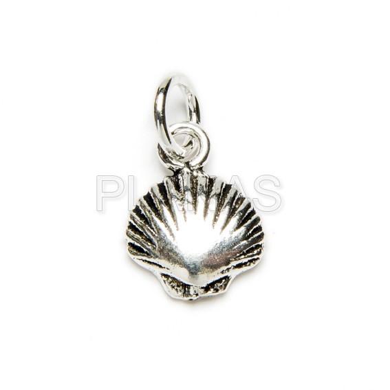 32296bqzkn mini concha en plata de ley
