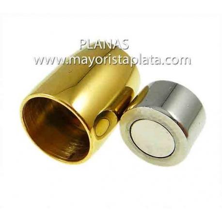 Cierres de acero magnético 6mm.