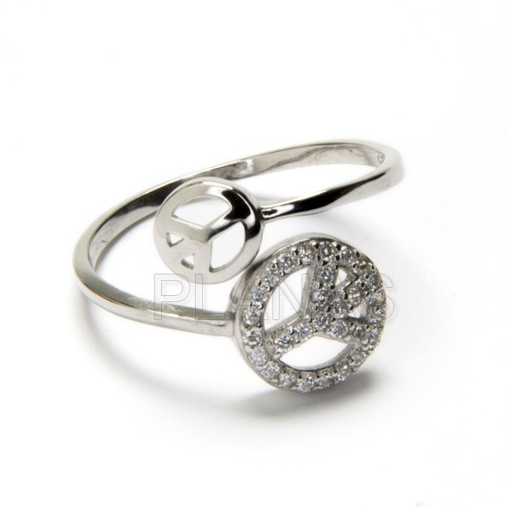 Alliance silver and zircons