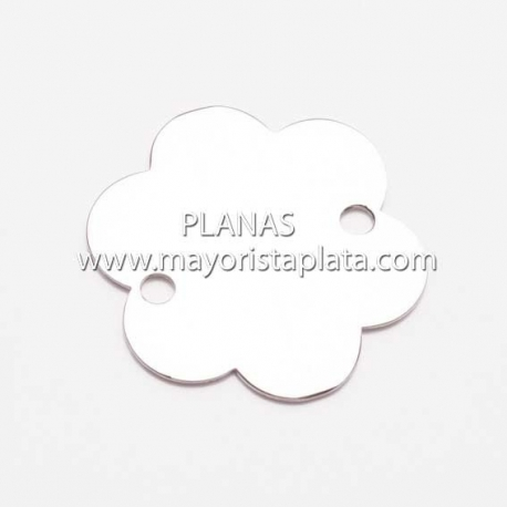 Placas de Plata para Pulsera