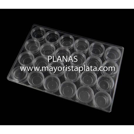 Caja de Plastico para Abalorios