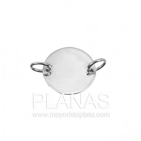 Circulo de plata  10,5mm.