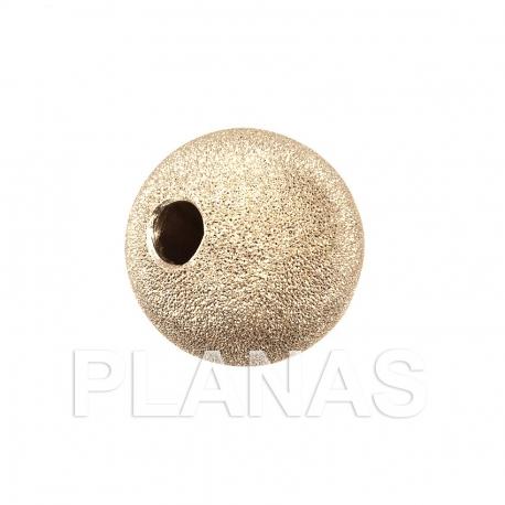 Bola de plata  diamantada 20mm.
