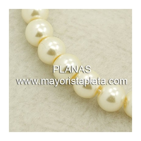 Glass pearl 4mm.