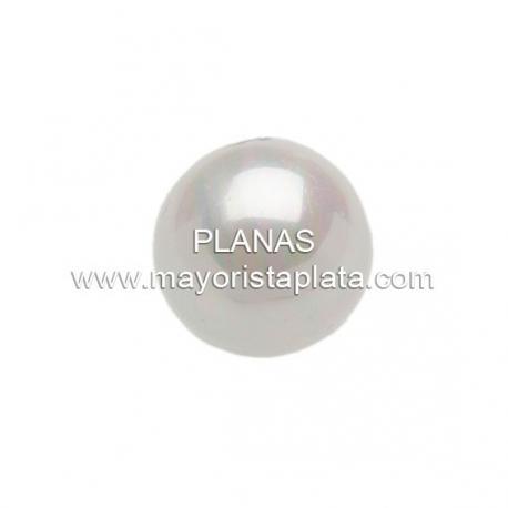 Perla Cristal 10mm 1 Agujero