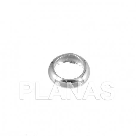 Arandela de plata 11,3x4,2mm.