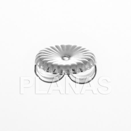 Presión de plata 9,50x9,25mm.