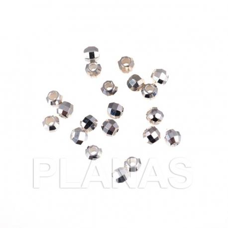 Bolas de Plata 2,5mm.
