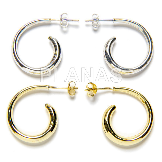 Lisa silver earring hook