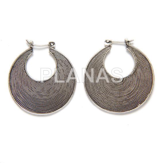 Lisa silver earring hook