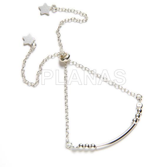 Bali bracelet in sterling silver