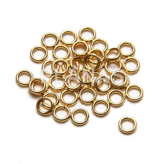 Steel rings 6x1