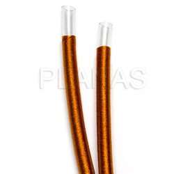 5mm silk cord.
