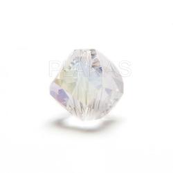 Abalorio de Cristal 10mm.