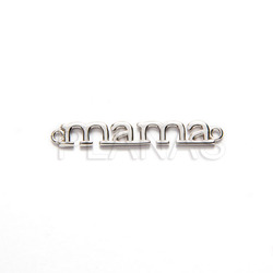 Mama interpiece sterling silver.