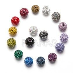Crystal beads 10mm