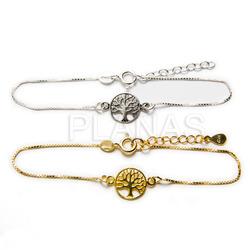 Bracelet in sterling silver.