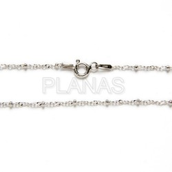 Chains sterling silver pellets