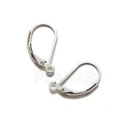 Silver fornitura for earrings