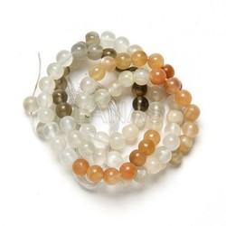 Tiras de Mix Moonstone de 5mm.