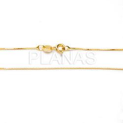 Venetian chain in sterling silver 40cm