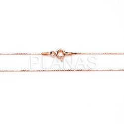 Silver chain 40cm streamer law