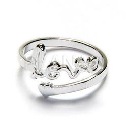 bajo costo f1c53 72687 Love ring sterling silver