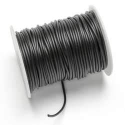 Rubber 2mm coils hollow.