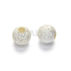 Diamond ball silver 6mm light