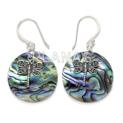 Sterling silver earring.