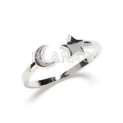 Ola ring in sterling silver.