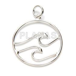 Lisa silver pendant